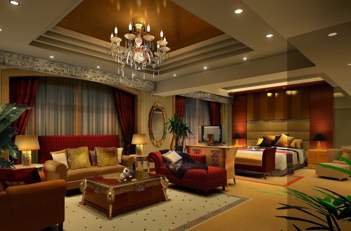 Bedroom Interior Designs. Classical Living Room Bedroom Interior Design